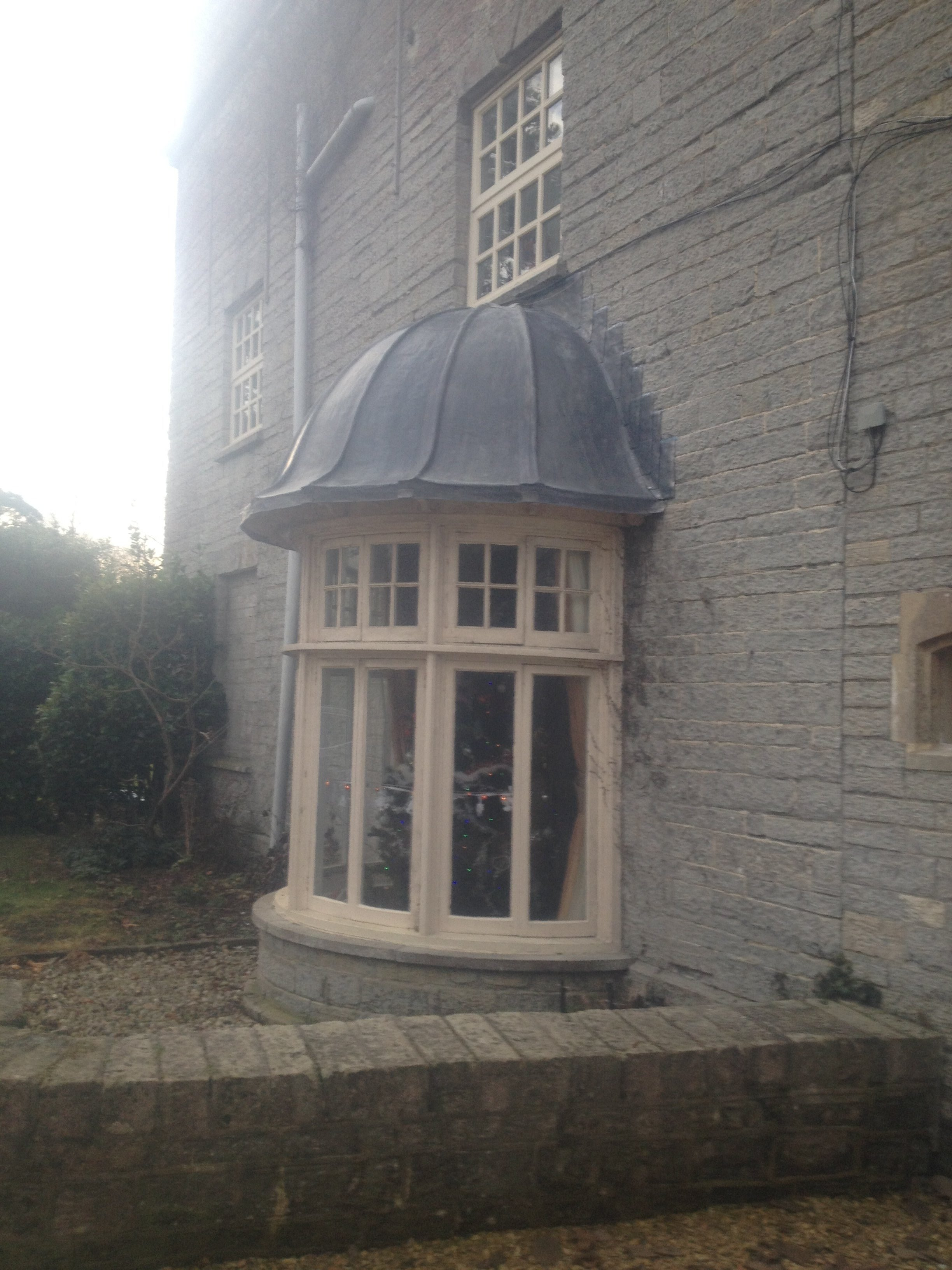 Replacement Lead Roof To Bay Window In Street Ableson